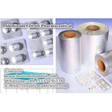 Aluminum Foil for Pharmaceutical