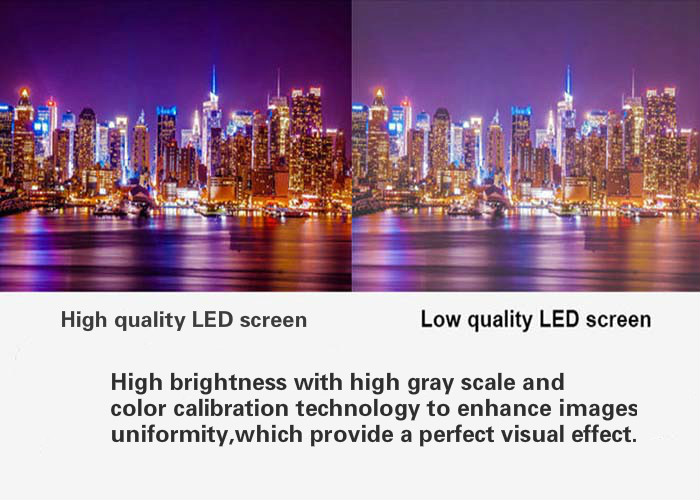 High Gray Scale led screen