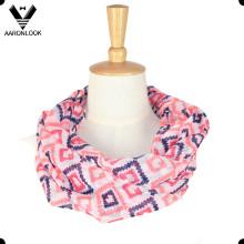 Высокое качество пользовательских дизайн полиэфир шеи шарф