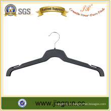 Fabricado com experiência Gancho de metal Gancho de saia de roupa de plástico