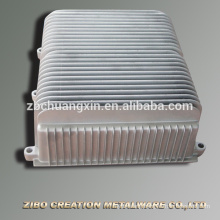 High quality Frequency conversion motor radiator die casting aluminium adc12