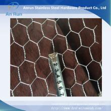 Eletro galvanizado Heavy Hexagonal Twisting Wire Mesh