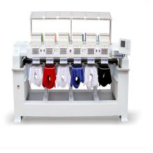 O tampão 12 agulhas automatizou a máquina do bordado A nova máquina do bordado da condição