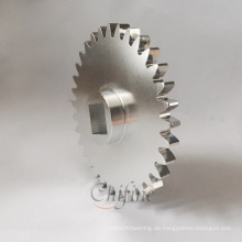 Kundenspezifisches Aluminium-Druckguss- und Bearbeitungsgetriebe mit Anodisierung