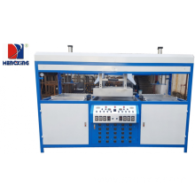 High Definition for Double Stations Vacuum Plastic Forming Machine Semi auto double-head blister vacuum forming machine export to South Korea Factory