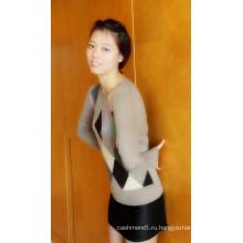Дамы кашемир пуловер Intersia (CIP13002L)
