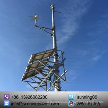 Sunning sistema de fonte de alimentação híbrido do gerador de vento 24V da CC