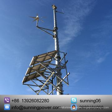 Sunning DC Wind Generator 24V Sistema de suministro de energía híbrido