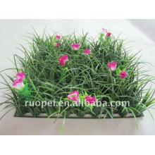 Alfombra de hierba artificial para decoración de jardín, plástico de cobertura 1