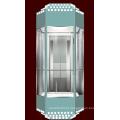 Elevador panorâmico tipo diamante para Slae