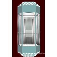 Elevador panorámico tipo diamante para Slae