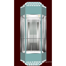 Diamond Type Panoramic Elevator for Slae