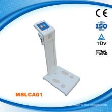 MSLCA01W Körper Gesundheit Analysator & Körperfettprüfung und Körperzusammensetzung Analysator