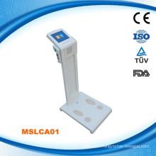 MSLCA01W Body health analyzer & body fat testing and body composition analyzer