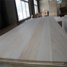 40mm zusammengesetztes 2 Schichten Paulownia-festes Holz