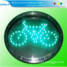 Mini Green Bycicle Traffic Warning Lamp