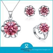 2015 Open Style Silver Jewellery Set Sales on Line (J-0087)