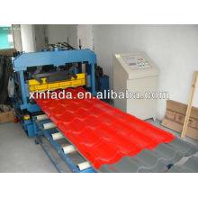 Глазурованная плитка металлическая листовая машина