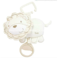 Factory Supply Organic Stuffed Baby Musical Hang Toy