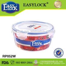großer pp. Plastiknahrungsmittelspeicherbehälter mit Deckel