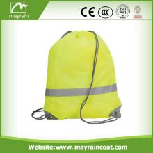 Bolsas de seguridad reflectantes con cordón personalizado impreso