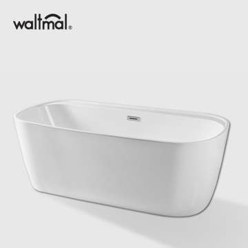 Chamfer Rectangle Acrylic Free Stand Bathtub