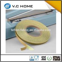 Fabriqué en Chine T0.13mm * W13mm * L10m TOFO PTFE fibre fibre en fibre de verre avec adhésif