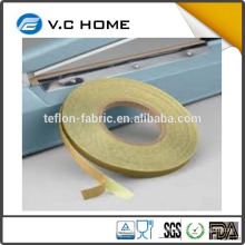 Made in China T0.13mm*W13mm*L10m TOFO PTFE glass fiber tape fiberglass with adhesive