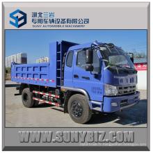 Foton Forland 130 10ton 4 * 2 Camion à benne basculante 4X2 Mini camion benne