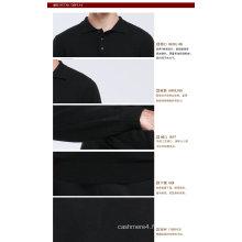 Yak Wool / Cachemire Cardiganneck Pull à manches longues Pull / Vêtements / Tricots / Vêtement