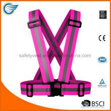 Adjustable Reflective Warning Belt for Running Cycling Walking