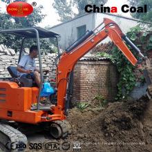 Machine d'excavatrice de creusement de roche de 1800kg mini