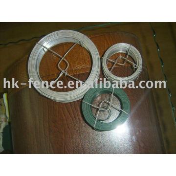 garden wire with rack dispenser