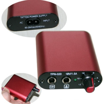 Mini and Top Quality Tattoo Power Supply