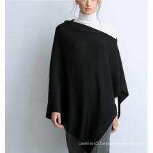 women's 100% pure cashmere poncho