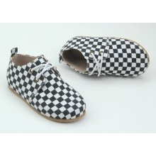 Твердая резиновая подошва PU Верхний материал детская обувь Детская наружная обувь