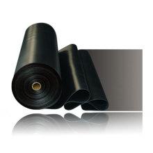 1.2-2.0mm Toile EPDM Matériaux à membrane imperméable à l'eau / EPDM Rubber Roofing Membrane / EPDM Pond Liner