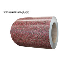 Granite coated aluminium coils