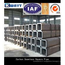 Tuyau en acier carré carbone soudé ERW