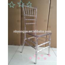 Alta qualidade resina Chiavari cadeira