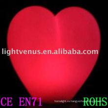 сердце формы светодиодные праздник света