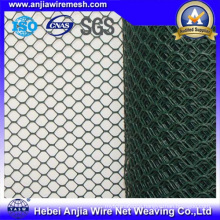 Hexagonal Wire Netting-Hot Dipped or Electro Galvanized or PVC Coated