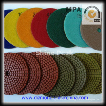 Diamond Polishing Cleaning Pads for Marble Granite Stone