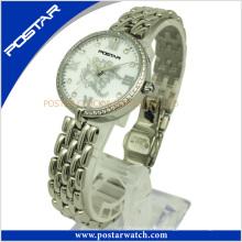 Neue Mode Vintage Edelstahl Uhr