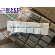 Esco OEM Chromium Casting Spare Parts Chocky Bar and Wearing Button