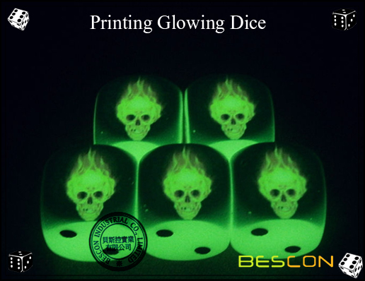 Printing Glowing Dice