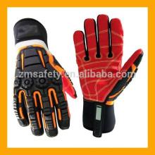 Mechanic Wear Oil Rig Heavy Duty Impact Mechanic Gloves