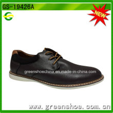 China Factory Estilo Britânico Elegantes Homens Oxford Sapatos