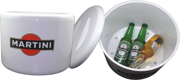 Big volume round ice bucket for sale