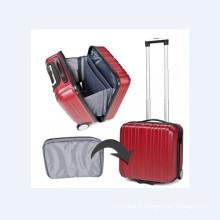 Valises de voyage en rouge
